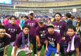 ナゴヤドーム6時間リレーマラソン2017 42.195kmリレーマラソンの部へ参加しました。